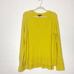 J. Crew Citrine Yellow Slouchy Wool Sweater